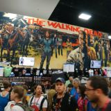 SDCC 2014 Walking Dead booth