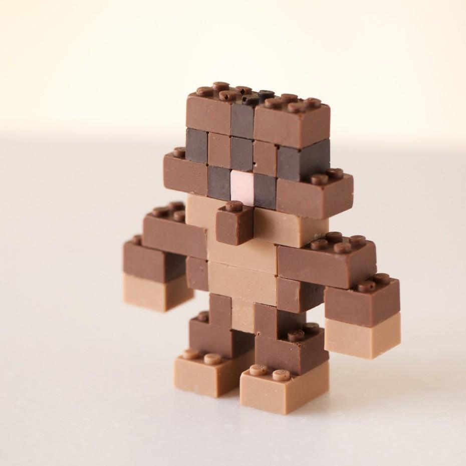 Chocolate LEGO robot
