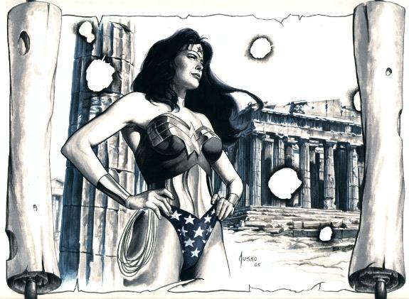 Wonder Woman by Joe Jusko