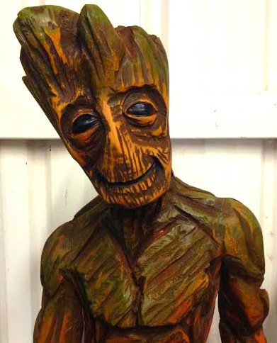 real life groot