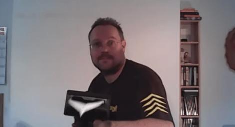 paper airplan machine gun