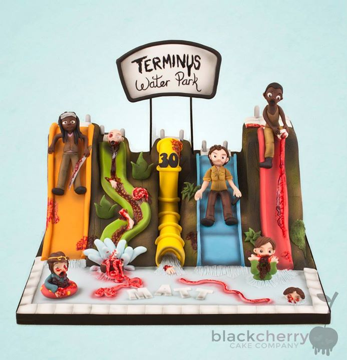 awesome walking dead cakes