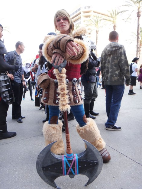 WonderCon Anaheim 2015 Astrid from How to Train Your Dragon