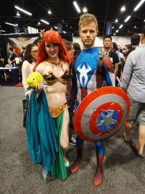 WonderCon Anaheim 2015 Slave Ariel Captain Spider-Man