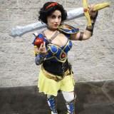WonderCon Anaheim 2015 Snow White Warrior Princess