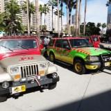 Long Beach Comic Expo 2015 - Jurassic Park vehicles