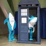 Long Beach Comic Expo 2015 - Katy Perry sharks in the TARDIS
