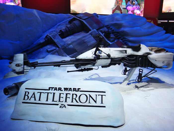 E3 2015 EA Star Wars Battlefront
