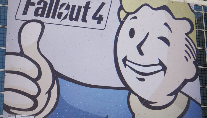 E3 2015 Fallout 4 press event videos