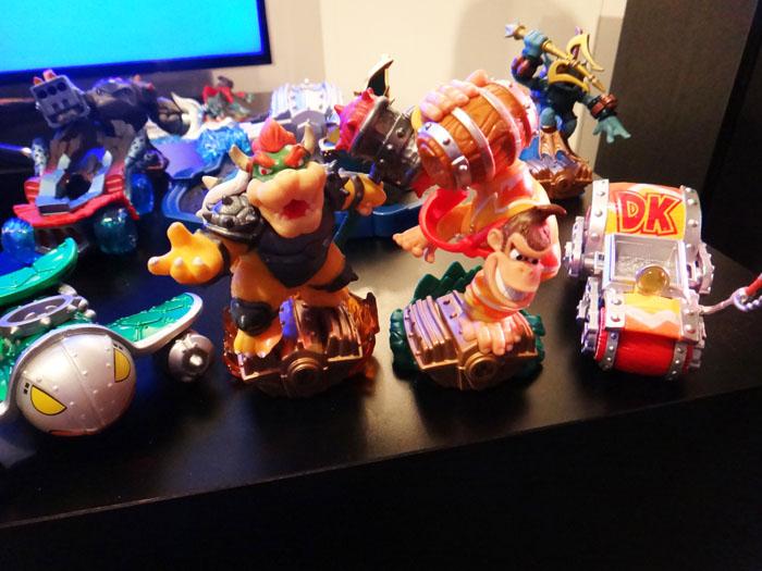 E3 2015 Skylanders Amiibos Bowser Donkey Kong