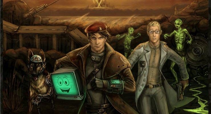 best fallout fan art
