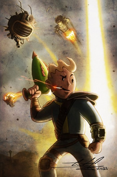 best fallout fan art