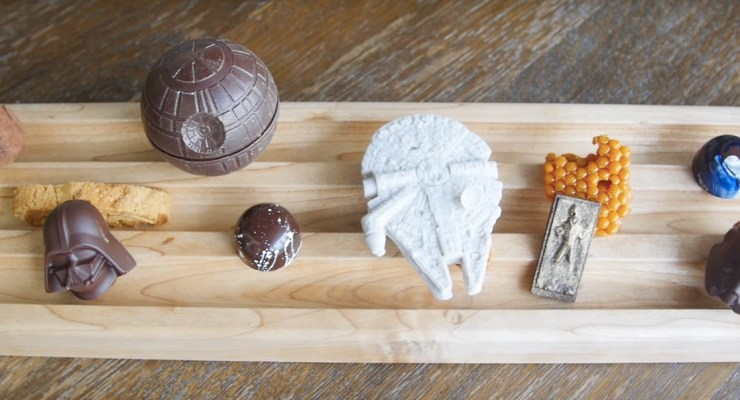 Star Wars chocolates video