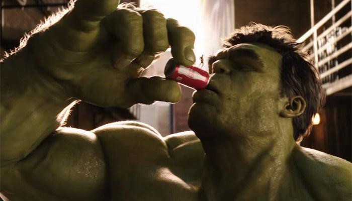 Coke Mini Hulk Ant-Man