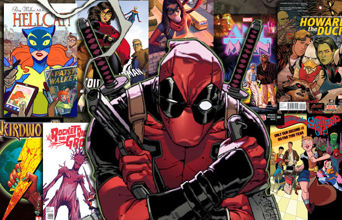 10 Funny Marvel Comics Deadpool