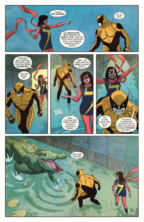 Ms Marvel meets Wolverine