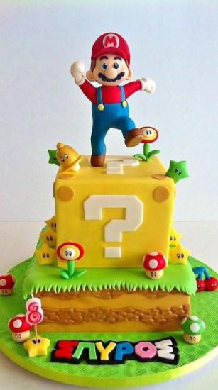 coolest super mario cakes