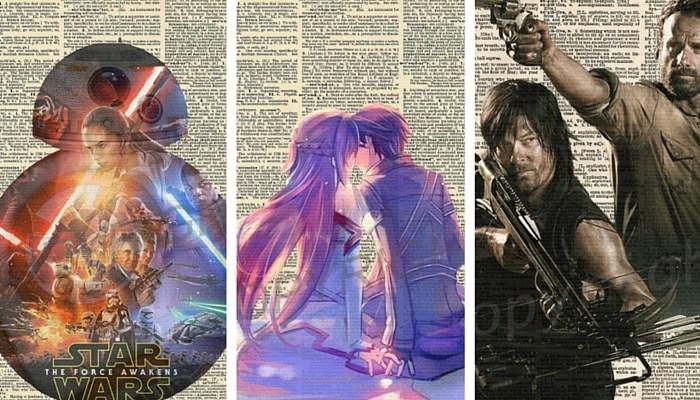 geek art prints