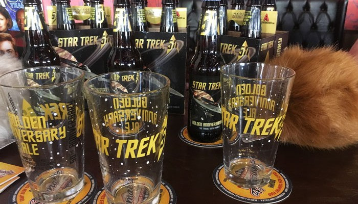Star Trek 50th Anniversary beer