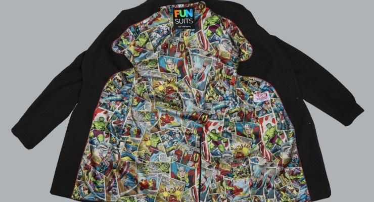 marvel jackets