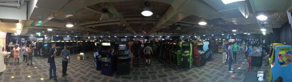 Arcade Expo 3.0 - arcade wide shot