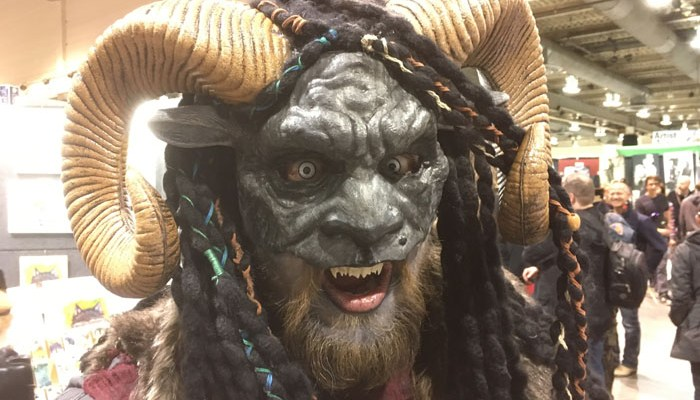 Calgary Expo 2017 - cosplay Krampus