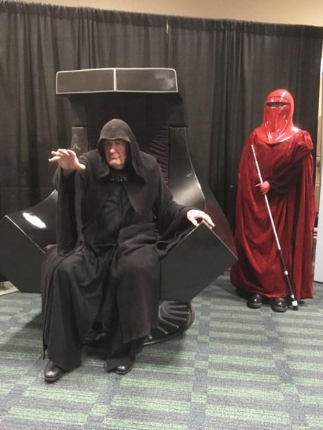 Star Wars Celebration Orlando 2017 - Emperor Palpatine