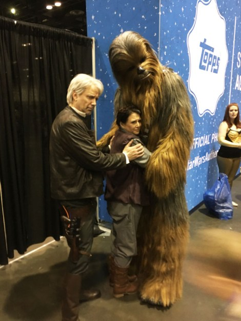 Star Wars Celebration Orlando 2017 - Han, Leia, Chewie