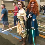 Star Wars Celebration Orlando 2017 - Jedi Bell and Merida