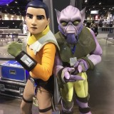 Star Wars Celebration Orlando 2017 - Rebels Ezra and Zeb