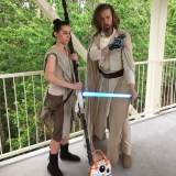 Star Wars Celebration Orlando 2017 - Rey and Luke
