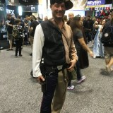 Star Wars Celebration Orlando 2017 - split Han Solo and Indiana Jones
