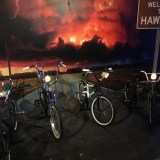 SDCC 2017 - Stranger Things 2 bikes