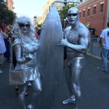 SDCC 2017 - cosplay Silver Surfers