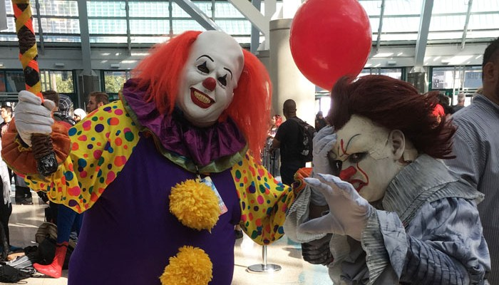 LA Comic-Con 2017 - cosplay Pennywise featured