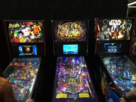 SDCC 2017 - Stern Pinball Batman 66, Aerosmith, Star Wars