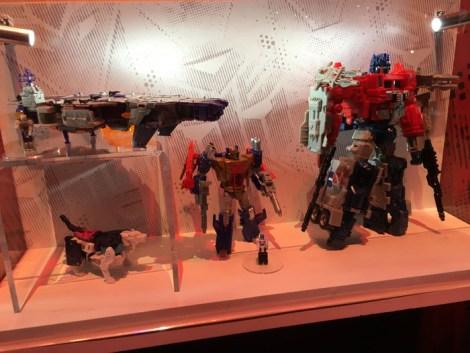 SDCC 2017 - Hasbro Transformers figures