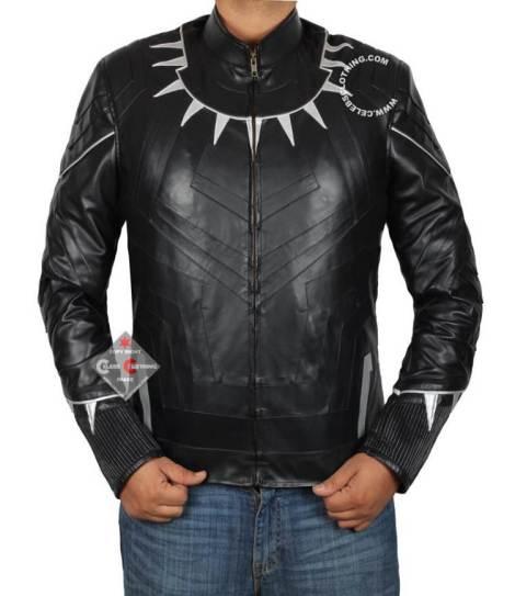 black panther jacket front