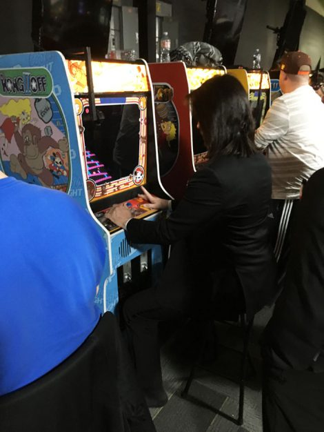 Arcade Expo 4.0 - Billy Mitchell playing Donkey Kong
