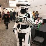 Comic-Con Revolution cosplay - L3-37