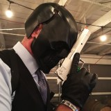 Comic-Con Revolution cosplay - Black Mask