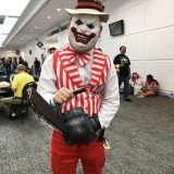 Comic-Con Revolution cosplay - clown from the Purge
