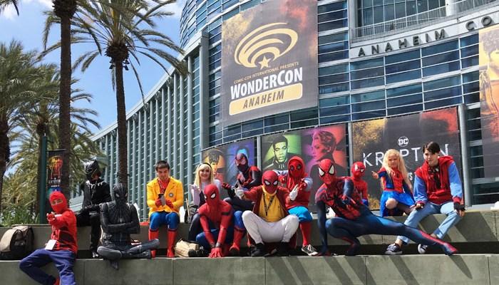 WonderCon Anaheim 2018 cosplay - Spider-verse