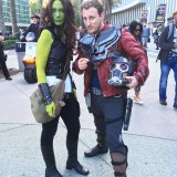 WonderCon Anaheim 2018 cosplay - Gamora, Groot, and Star Lord