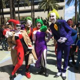 WonderCon Anaheim 2018 cosplay - Harley and the Jokers