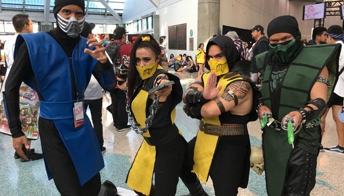 Anime Expo 2018 - Mortal Kombat