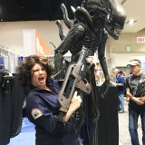 SDCC 2018 - Ripley and an Alien