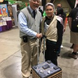 Marvel's Hank and Janet Pym at Long Beach Comic-Con 2018