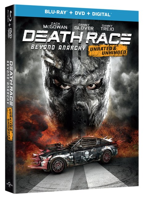 Death Race: Beyond Anarchy cover