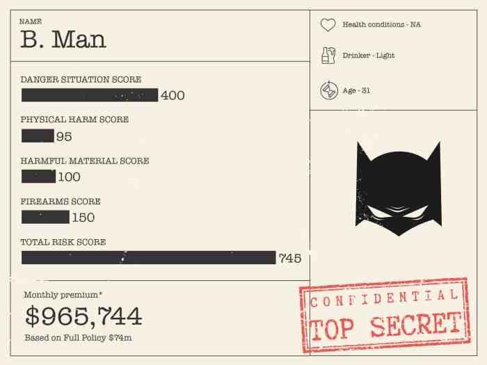 superhero life insurance